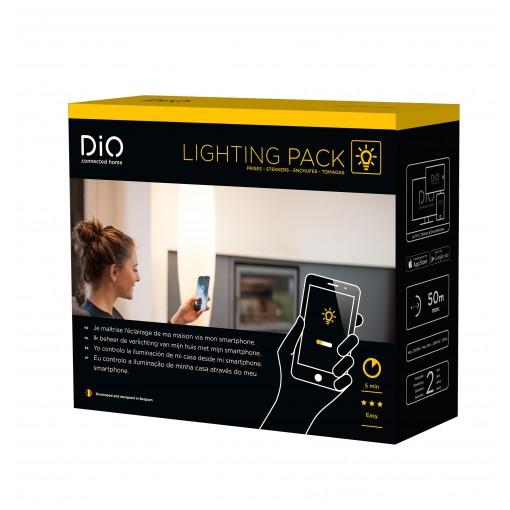 Paquete de luces conectadas (enchufes)DiO