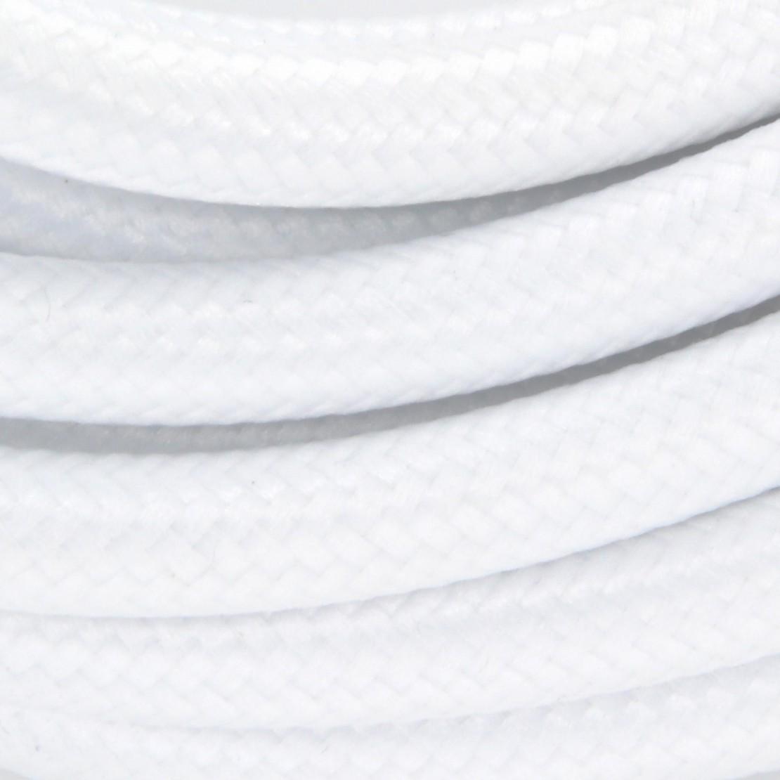 Câble textile + interrupteur 2x0,75mm2