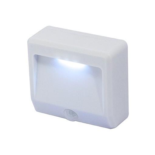 Draaibare IP44 LED nachtlampjemet bewegingsdetector