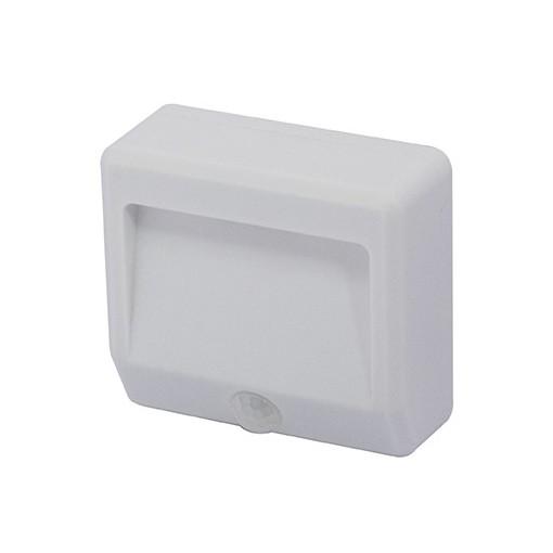 Veilleuse LED IP44 portativ av ec détecteur de mouvement sur pile