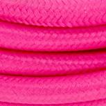 Cables textil HO3VV-FE 2 x 0,75mm2 3 m Rosa