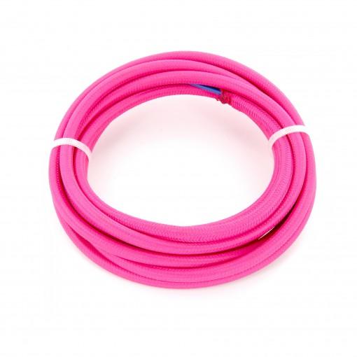 Kabel HO3VV-F  2 x 0,75mm2- 3m - roze