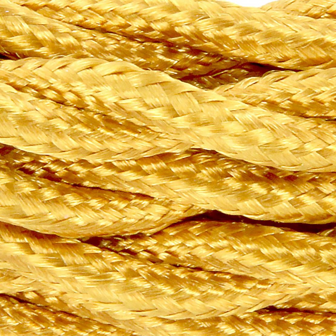Cabos texteis entranados HO3VV-FE 2 x 0,75mm2 13 m Ouro