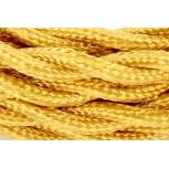 Câble HO3VV-F  2 x 0,75mm2 tor sadé - 3 m - textile or
