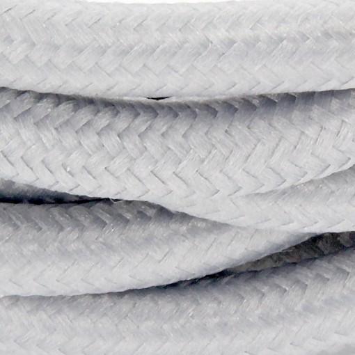 Cables textil HO3VV-FE 2 x 0,75mm2 3 m Gris