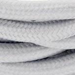 Câble HO3VV-F  2 x 0,75mm2 - 3 m - textile gris