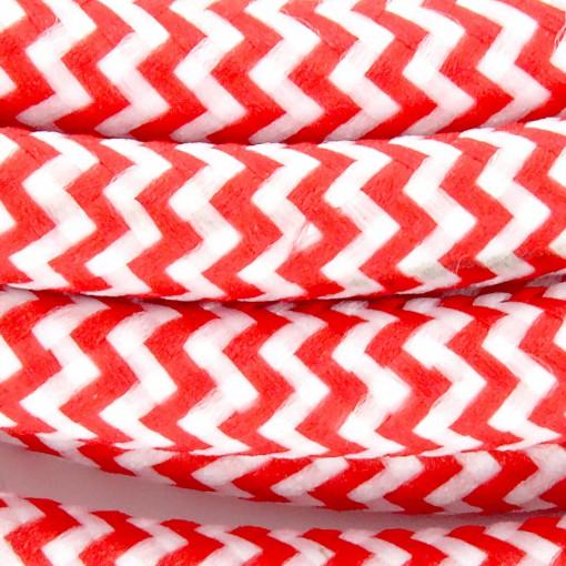 Cabos texteis HO3VV-FE 2 x 0,75mm2 11 m Vermelho BrancoE