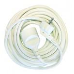Prolongateur HO5VVF 3 x 1,5mm2 -  1.5 m - blanc