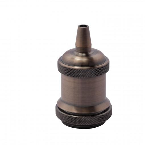 Metalen lamphouder- koperen