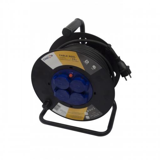 Enrouleur 4x16A HO7RN-F 3 x 1, 5mm² - 40 m (SCH)