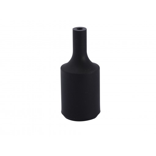 Portalamparas E27 silicona Negro