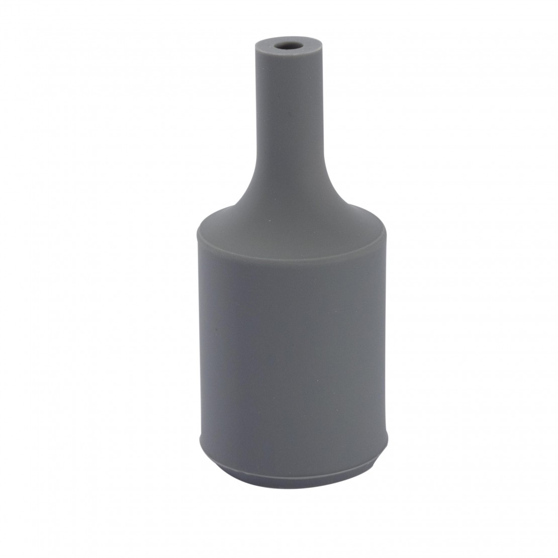 Siliconen lamphouder- clear grijs