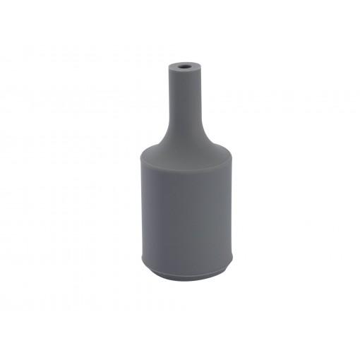 Casquilho E27 silicone Cinza