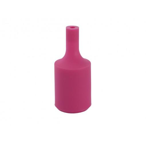 Portalamparas E27 silicona Rosa