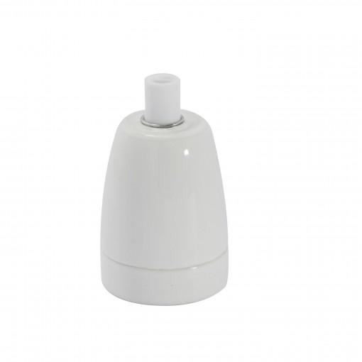 Douille céramique - Blanc