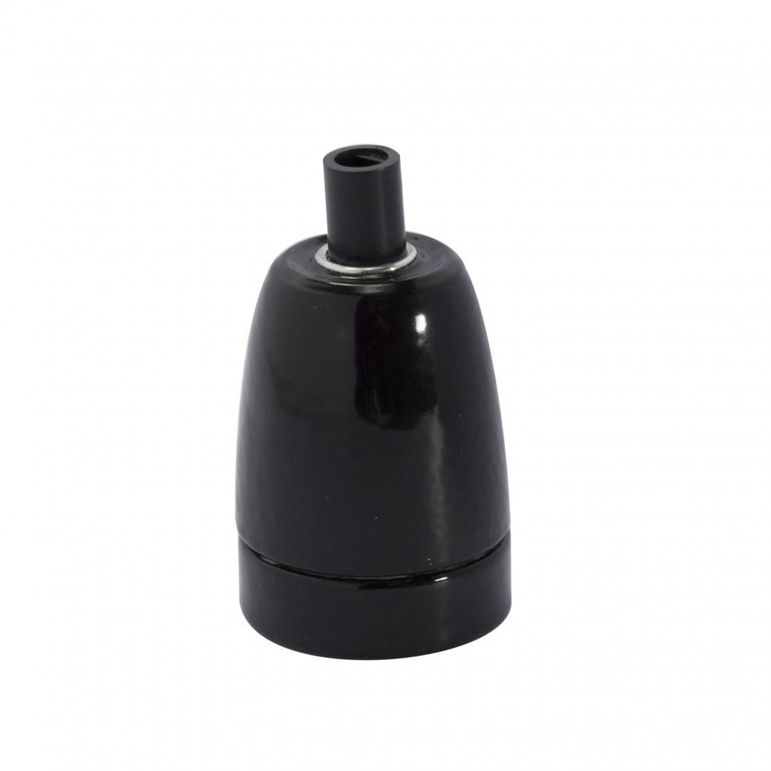 Portalámparas E27 cerámica