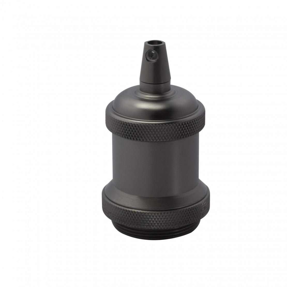 Metalen lamphouder-titanium