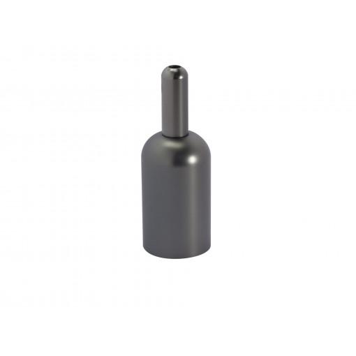 Metalen lamphouder- titanium