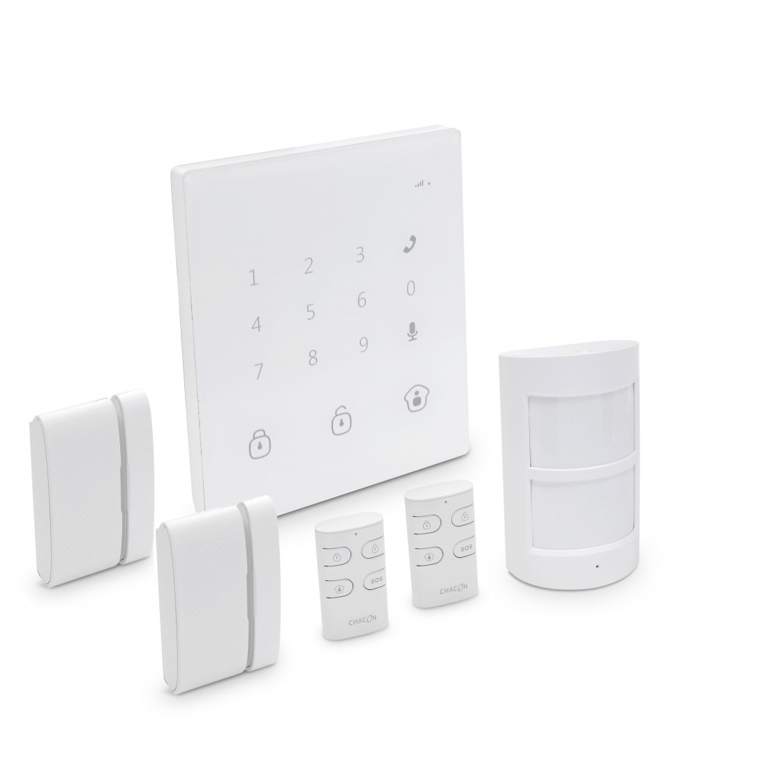 Wireless GSM/SMS alarm system