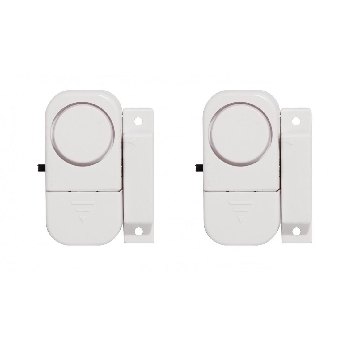 Pack 2 mini alarmas condetección magnética