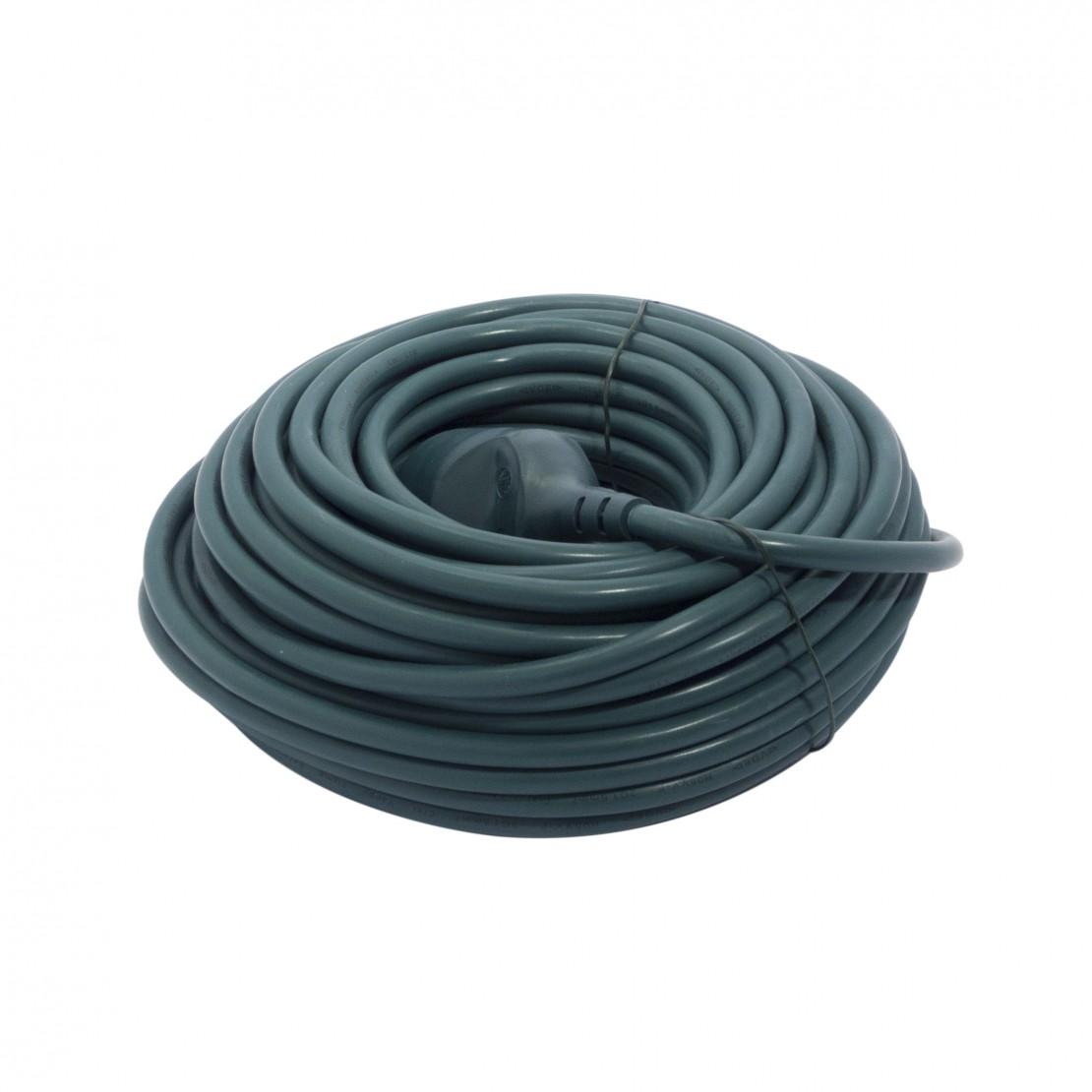 Verlengsnoer - HO5VVF - 3 x 1,5mm2 - 20m- groen
