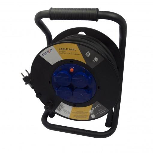 Enrouleur 4x16A HO7RN-F 3 x 2, 5mm² - 50 m