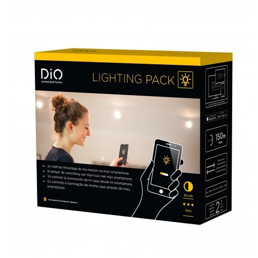 Pack Iluminación conectada (HOMEBOX + mini-módulos con información de estado)