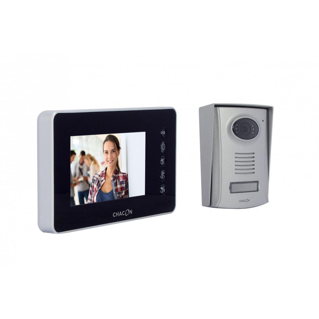 """Handsfree videofoon met 4""""-scherm"""