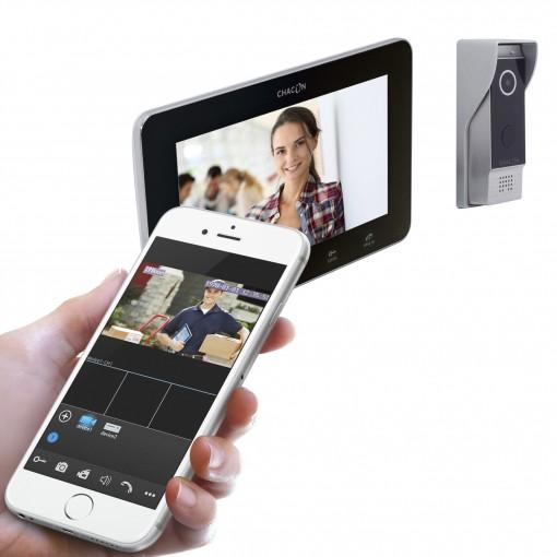 IP-videofoon met scherm