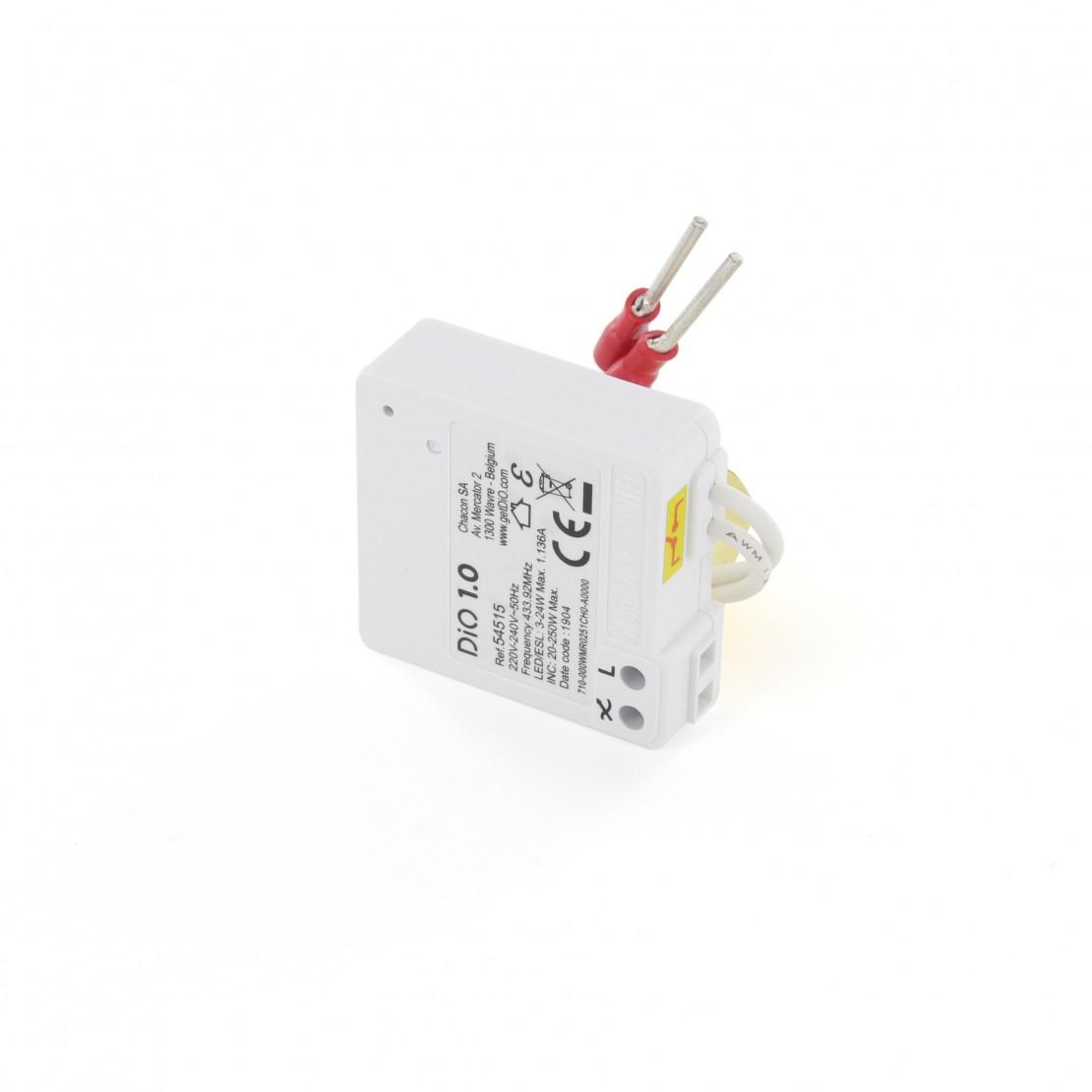 Micromodule voor verlichting met aan/uit-functie