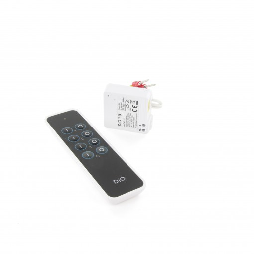 Lighting module and three-channel remote control