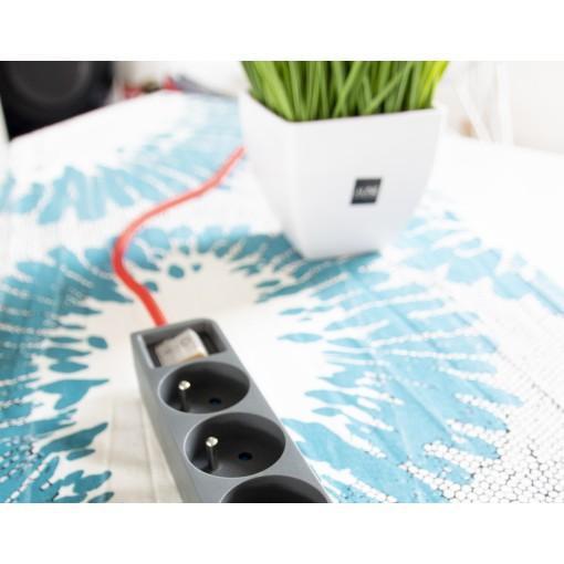 Con cable textil